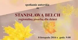 Spotkanie autorskie ze Stanis�aw� Be�ch