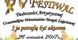 XV Festiwal Twórczości Artystycznej Uczestników Warsztatów Terapii Zajęciowej