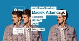Jazz Room Stand Up: Maciek Adamczyk