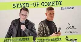 Stand-up No Limits: Paweł Chałupka i Juliusz Sipika