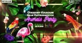 Otrzęsiny Kolegium Nauk Przyrodniczych - Animals Party