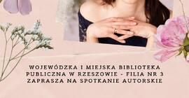 Spotkanie autorskie z Anną Ziobro