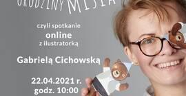Spotkanie online z ilustratorką Gabrielą Cichowską