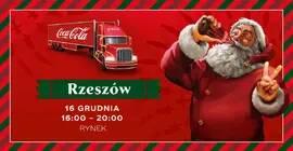 Świąteczna ciężarówka Coca-Cola
