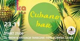 Cubano Bar: Fidel Almeida / Cuba