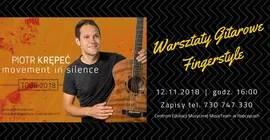Warsztaty Gitarowe z Piotrem Krępeciem