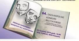 64. Og�lnopolski Konkurs Recytatorski: Eliminacje wojew�dzkie