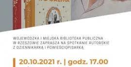 Spotkanie autorskie z Marzeną Rogalską