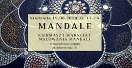 Mandale - kiermasz i warsztat malowania mandali