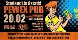 Studenckie Ostatki w Pewex Pub