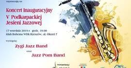 Koncert inauguracyjny V Podkarpackiej Jesieni Jazzowej