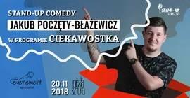 Stand-up No Limits: Jakub Poczęty-Błażewicz