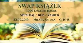 SWAP książek - 1000 English books