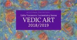 Wernisaż wystawy zbiorowej Lidia Varanova i kursanci Vedic Art