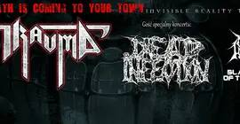 Trauma, Dead Infection, Nuclear Holocaust, Slaughter Of The Souls