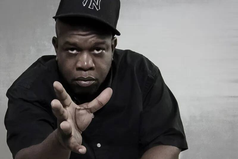 Jeru the Damaja we wrześniu w Vinylu