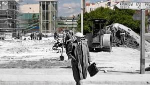 Archiwalne fotografie Rzeszowa zestawione ze wsp�czesnym krajobrazem miasta