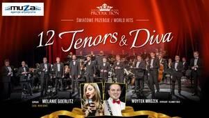 12 tenorów i Diva. Mieli zagrać w marcu, zagrają w październiku