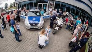 Policjanci i miasteczko ruchu drogowego podczas najbliższego Poranka dla dzieci