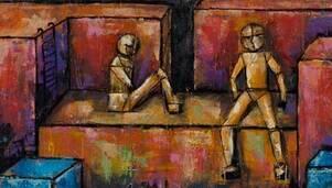 Jej obrazy mają wprowadzać widza w wykreowany świat. Wystawa malarstwa Iwony Pityńskiej