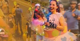 Nocne rolkowanie ulicami Rzeszowa w klimacie Disco Polo