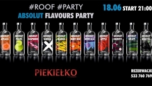 Roof Party x Absolut Flavours