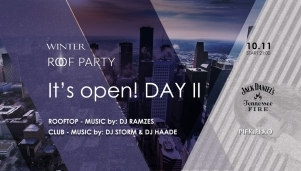 Winter Roof Party by Jack Daniel\'s Fire DAY II