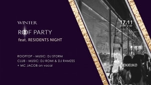 Winter Roof Party feat. Residents Night